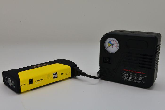 【價格超優惠全面下殺】《谷得士》(GOODs)超強汽柴油多功能雙USB輸出汽車啟動電源救援組《打氣、緊急啟動汽機車、手機平板3C可當行動電源充電》
