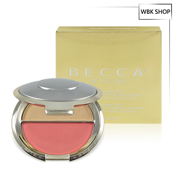 Becca x Jaclyn Hill 聯名限量雙色腮紅打亮盤 7.95g #Prosecco POP / Pamplemousse - WBK SHOP