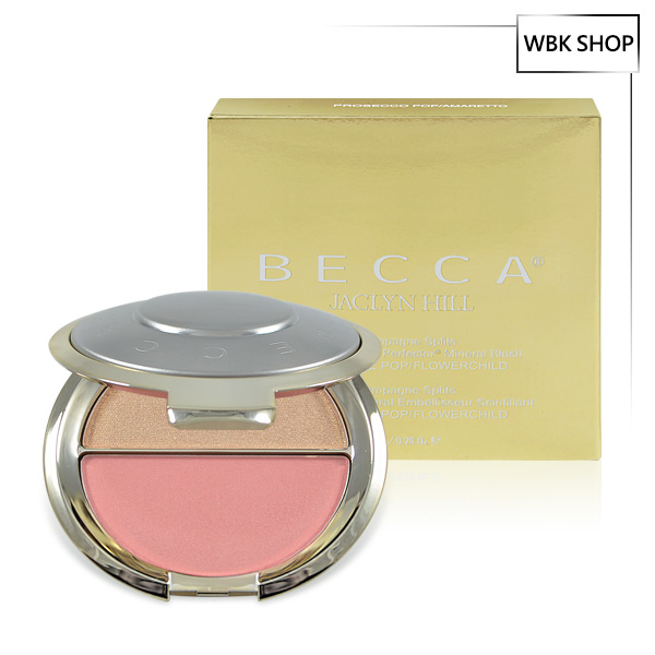 Becca x Jaclyn Hill 聯名限量雙色腮紅打亮盤 7.95g #Champagne POP / Flowerchild - WBK SHOP