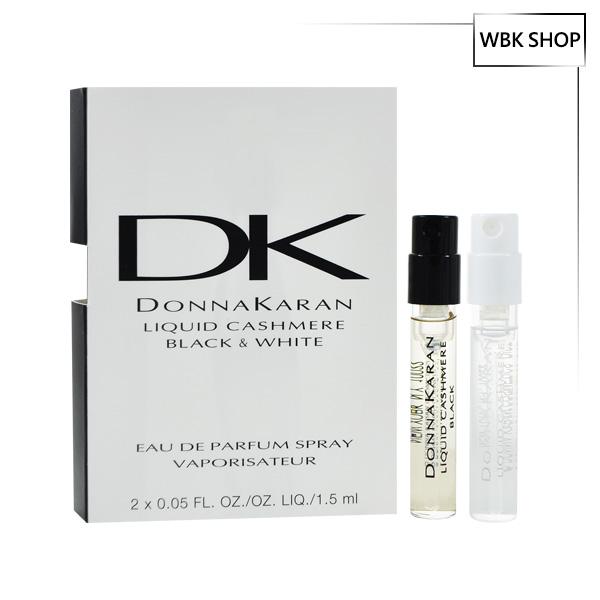 Donna Karan Liquid Cashmere Black & White 女性淡香精 針管小香 1.5mlx2 - WBK SHOP