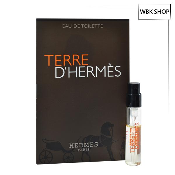 Hermes 愛馬仕 大地 男性淡香水 針管小香 2ml Terre D'Hermes - WBK SHOP