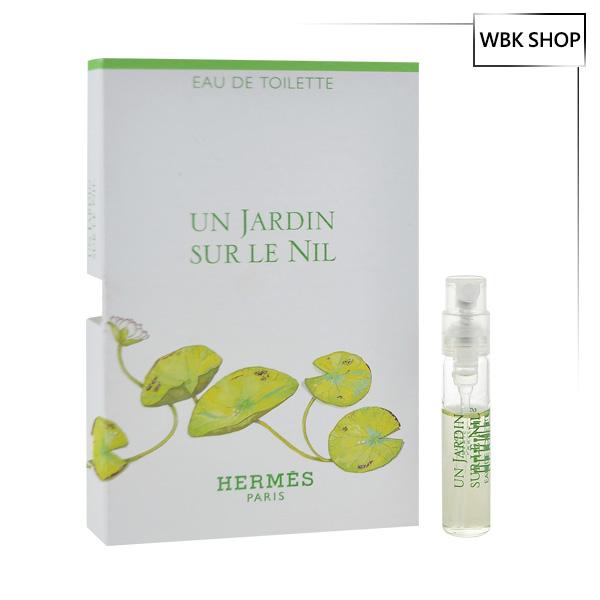 Hermes 愛馬仕 尼羅河花園淡香水 2ml EDT Un Jardin Sur Le Nil EDT- WBK SHOP