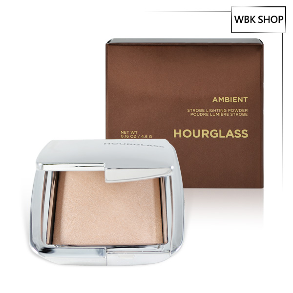 Hourglass 透亮高光乾濕兩用蜜粉餅4.6g #Brilliant Ambient Strobe Lighting Powder - WBK SHOP