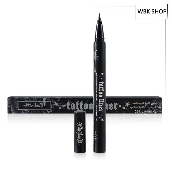 Kat Von D 刺青眼線液 #Trooper 0.55ml Tattoo Liner - WBK SHOP