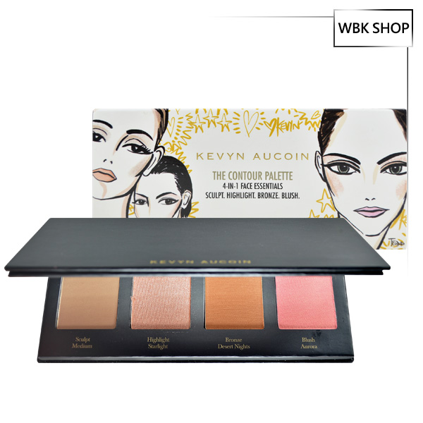 Kevyn Aucoin 4 in 1 腮紅修容盤 4x3g The Contour Palette 4-in-1 Face Essentials  - WBK SHOP