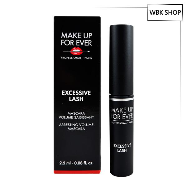 Make Up For Ever 龐克豐盈睫毛膏 #01 Black 2.5ml Excessive Lash Arresting Volume Mascara - WBK SHOP