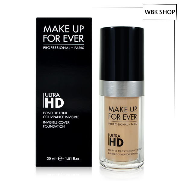 MAKE UP FOR EVER Ultra HD超進化無瑕粉底液 30ml Ultra HD (多色可選) - WBK SHOP