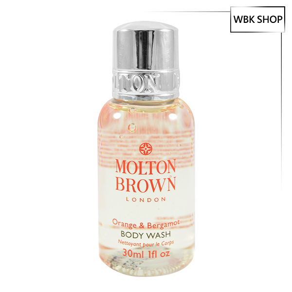 Molton Brown London 英國精品 摩頓布朗 柑橘佛手柑沐浴乳 30ml Orange & Bergamot Body Wash - WBK SHOP