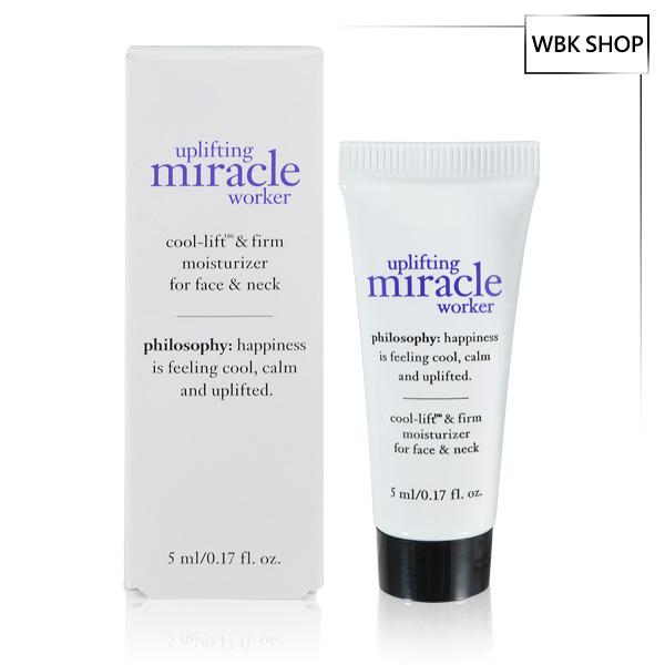 Philosophy 肌膚哲理 奇蹟再現緊實保濕霜 5ml Uplifting Miracle Worker Face Moist - WBK SHOP
