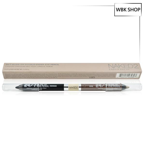 Urban Decay Naked2 雙頭眼線筆(Perversion/Pistol) 0.5gx2 Eye Pencil - WBK SHOP