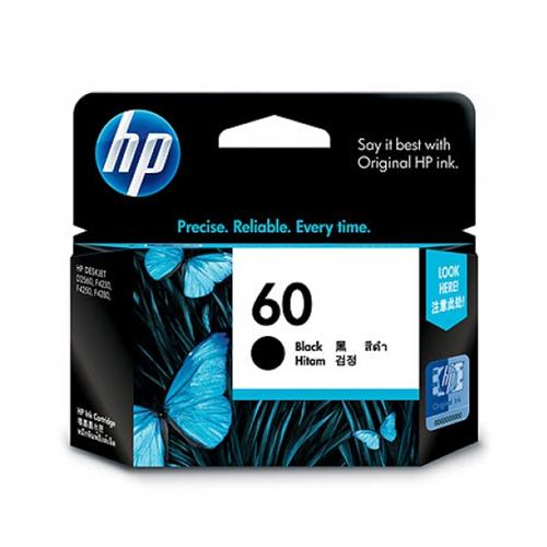 【OKIN】HP 原廠黑色墨水匣 CC640WA 60號 印表機耗材 噴墨印表機