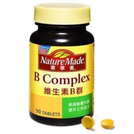 萊萃美 維他命B群 90錠/瓶◆德瑞健康家◆