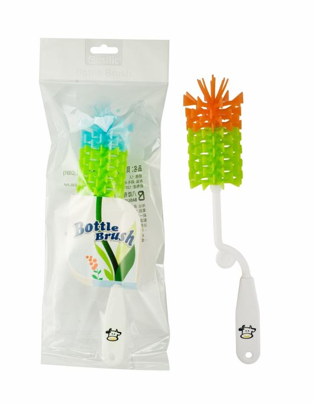 貝喜力克矽膠奶瓶清潔刷