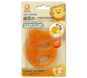 柑橘香矽膠固齒器 辛巴 / 手 / 腳