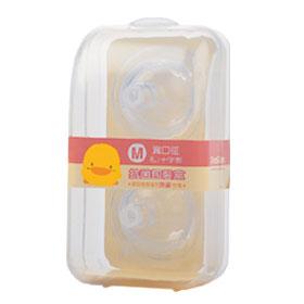 黃色小鴨 【寬口徑】奶嘴-雙氣孔奶嘴/十字型2入(M)