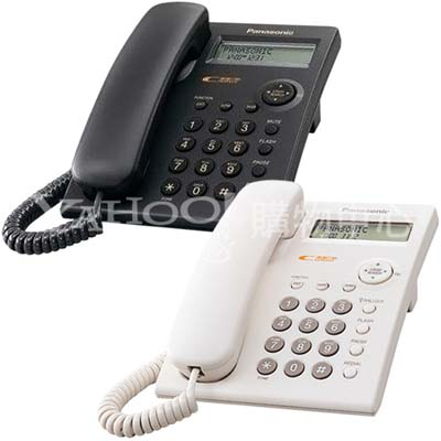 【純米小舖】Panasonic 國際牌 來電顯示有線電話機 KX-TSC11(白色)