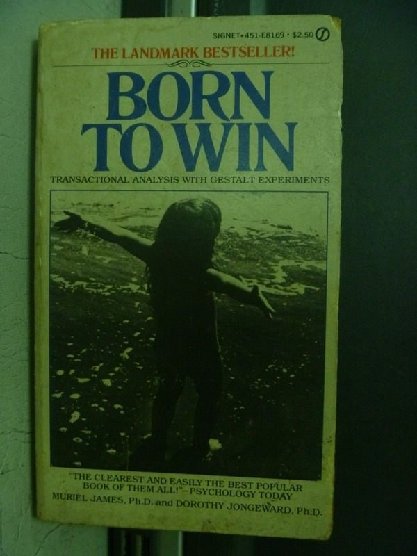 【書寶二手書T7/原文小說_OBI】Born Towin_ Dorothy Jongward Muriel James
