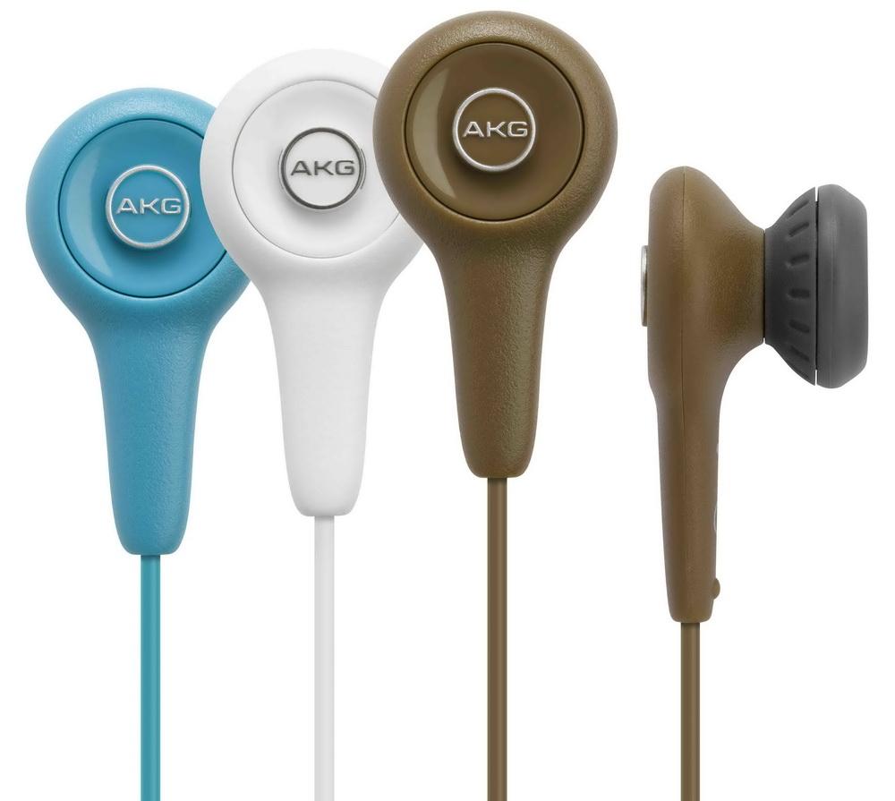 志達電子 Y10 淡藍、棕、白 AKG 耳塞式耳機 (愛科公司貨) K309 後續機種