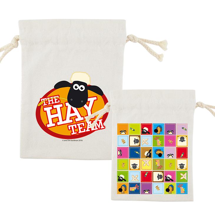 笑笑羊正版授權(Shaun The Sheep) - 束口袋:【 The HAY Team 】