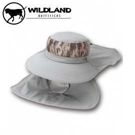 [ WILDLAND 荒野 ] 中性 抗UV收納式遮陽帽 中灰 /  W1001-92