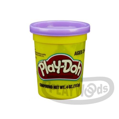 【Playwoods】[PLAYDOH][孩之寶-培樂多黏土]原料 繽粉色罐 4盎司單罐 紫色(DIY/安全無毒/Hasbro)