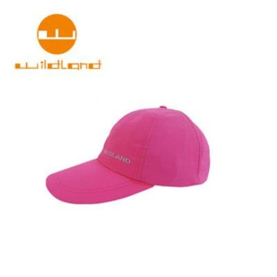[ WILDLAND 荒野 ] 中性抗UV透氣棒球帽 / 深粉紅 / W1013-32-F
