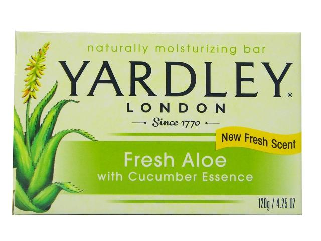 美國進口 Yardley London 清新蘆薈精華香皂120g