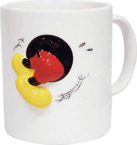 【真愛日本】15010200029   浮雕馬克杯-MK屁股   迪士尼 米老鼠米奇 米妮 杯子 水杯 正品