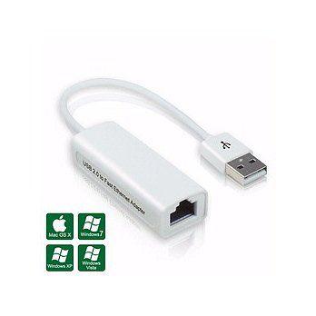 [良基電腦] USB 2.0 轉 RJ-45 高速網路卡 - 支援 MAC 系統 [天天3C]