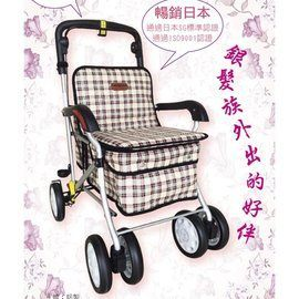 健步車/助行車 銀髮族健步車F238(大)