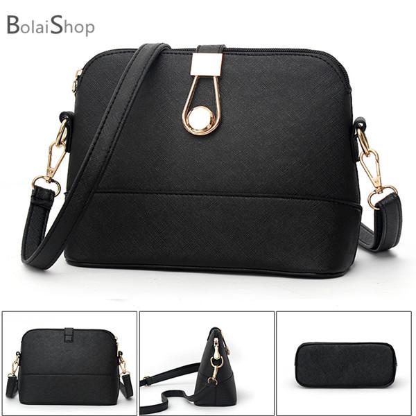 側背包 新款經典十字紋路斜背包 -B6003箴言- 寶來小舖bolai-現貨販售