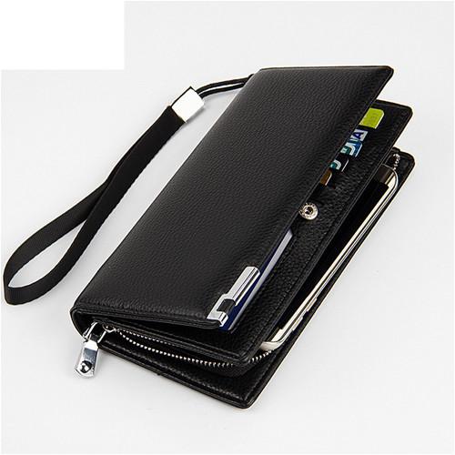 長夾 (現貨販售)新款大容量多卡位長皮夾 手機錢包 -寶來小舖【發PA404】