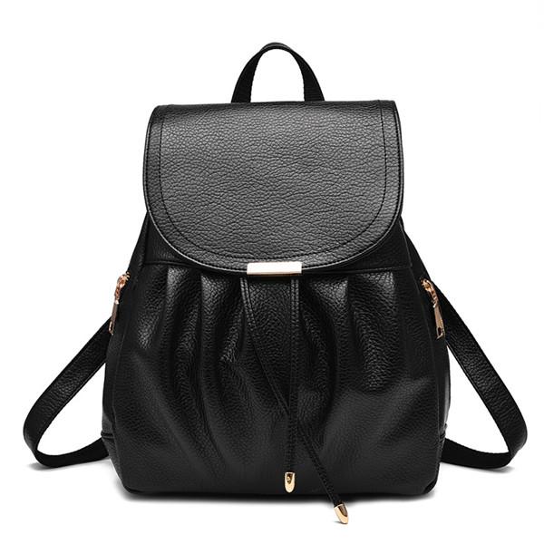 後背包-新款質感時尚荔枝紋後背包-永恆回憶-共4色-W78987- 寶來小舖 Bolai 現貨販售