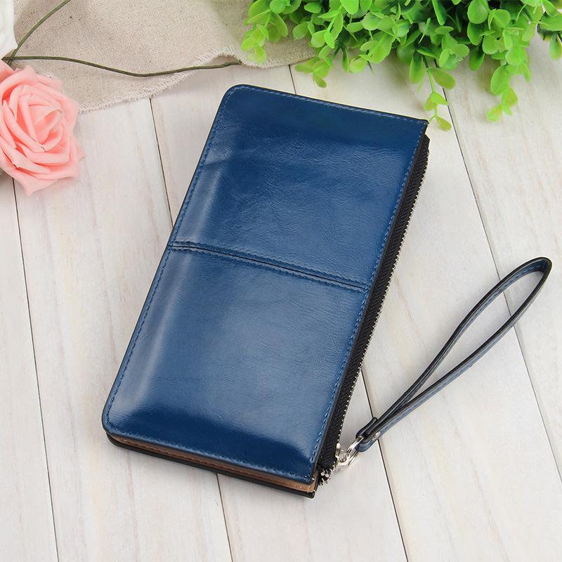 長夾 質感素面大容量長皮夾 手機錢包 7色 837Y208【寶來小舖】現貨販售
