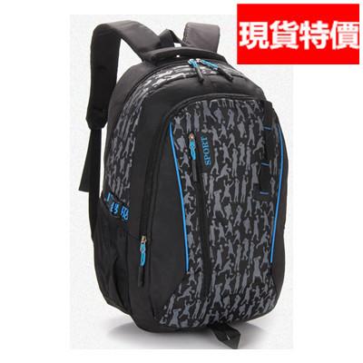 (現貨 附發票)後背包 大容量防水尼龍運動休閒旅行包(A808系列) /寶來小舖