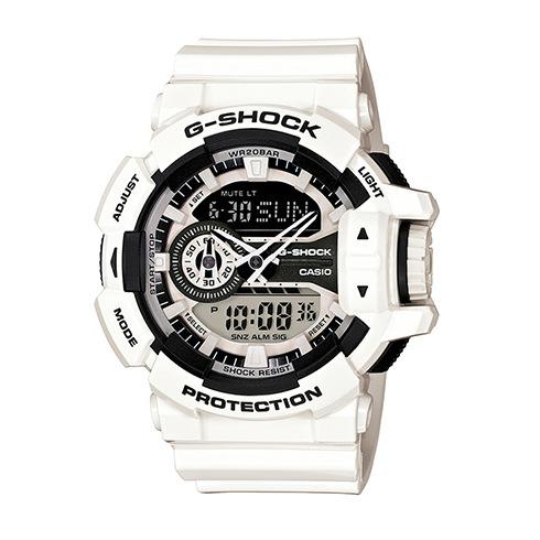 CASIO G-SHOCK GA-400-7A新式街頭流行腕錶/52mm