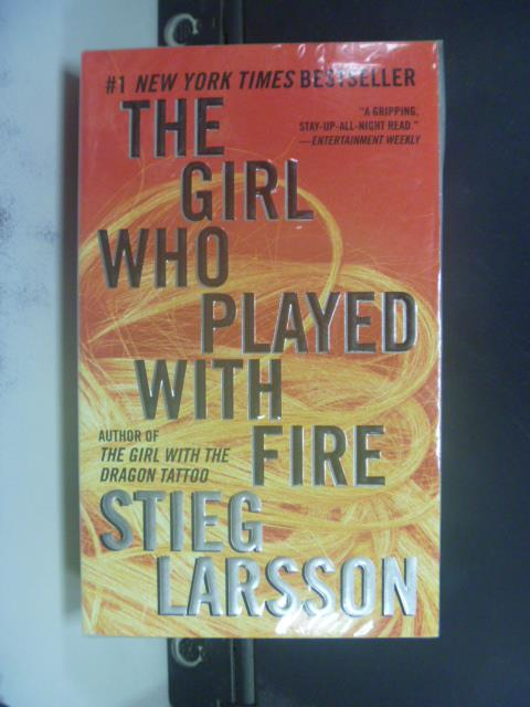 【書寶二手書T2/原文小說_GEE】The Girl Who Played With Fire_Larsson, Sti