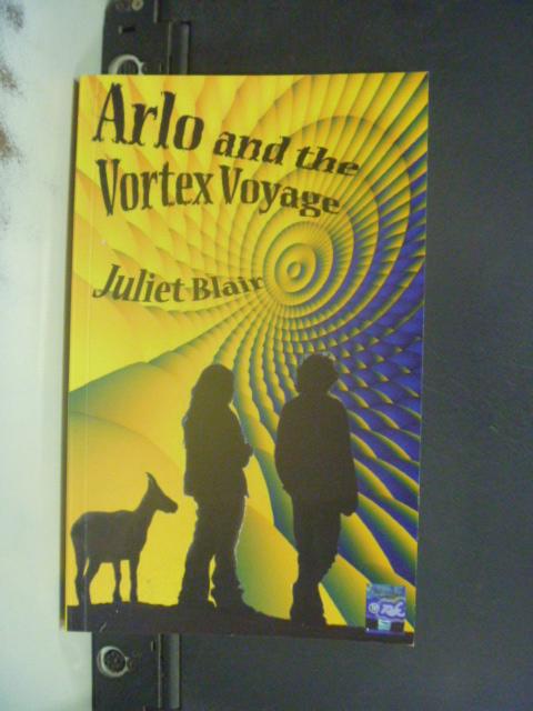 【書寶二手書T3/原文小說_NIH】Arlo and the Vortex Voyage_Juliet Blair