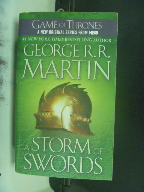 【書寶二手書T1/原文小說_GSE】A Storm of Swords _George R. R. Martin