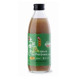 陳稼莊 紅心芭樂汁(加糖) 300ml/瓶