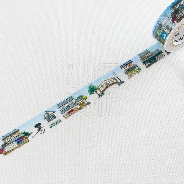 *小徑文化*日本進口 Round Top yano design 和紙膠帶 - 日本下町街景 ( YD-MK-070 )