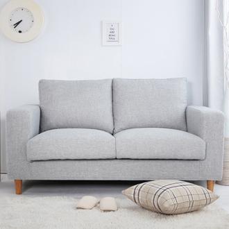 【迪瓦諾】貓抓布沙發 2人 / 3人/L型 / 淺灰色(18種顏色) /台灣製 /可訂做