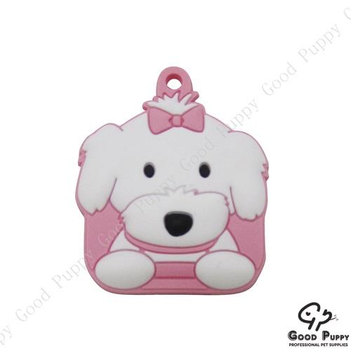 加拿大進口狗狗寵物鑰匙套瑪爾濟斯女92865 Maltese (Girl)* 吊飾/鑰匙套/小禮物/贈品