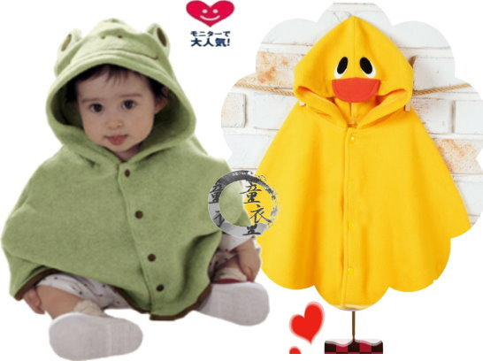 童衣圓 【AD011】AD11造型披風 綿絨 保暖 含帽 可愛 造型 外套 披風 披肩 斗篷~單一尺寸
