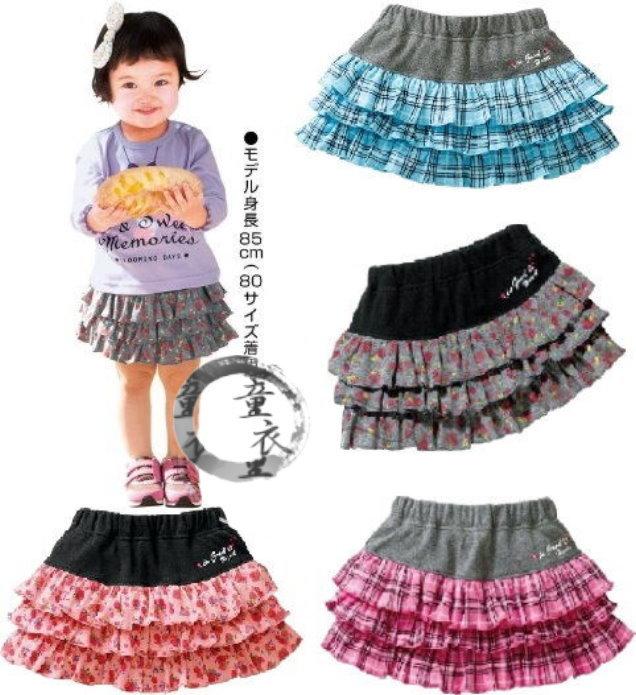 童衣圓【AG065】AG65彩色短裙 涼夏小短裙 迷你裙 花邊裙 蛋糕裙 百搭款~90.100