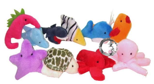童衣圓【N013】N13海洋指偶 親子必備 角色扮演 指偶 手偶 益智 故事 遊戲 表演 道具