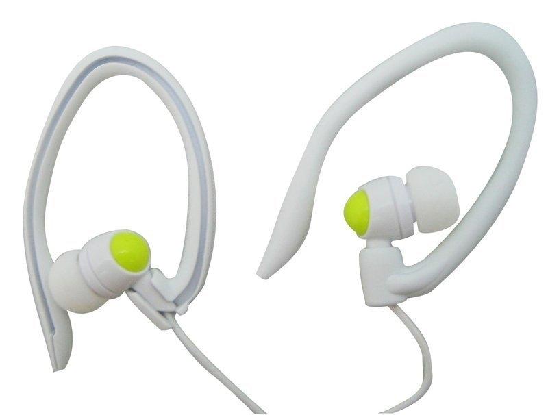 【迪特軍3C】JS 淇譽電子 耳掛式迷你耳機 (HAS012) 白綠色