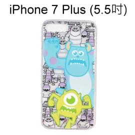 迪士尼空壓氣墊軟殼 [主題] 怪獸大學 iPhone 7 Plus (5.5吋)【Disney正版授權】