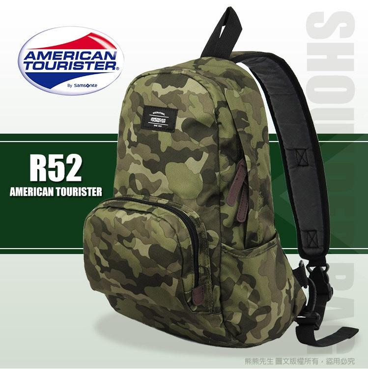 《熊熊先生》2016推薦 新秀麗Samsonite美國旅行者 輕量 可調整式肩背帶 休閒單肩包 肩背包 R52*016