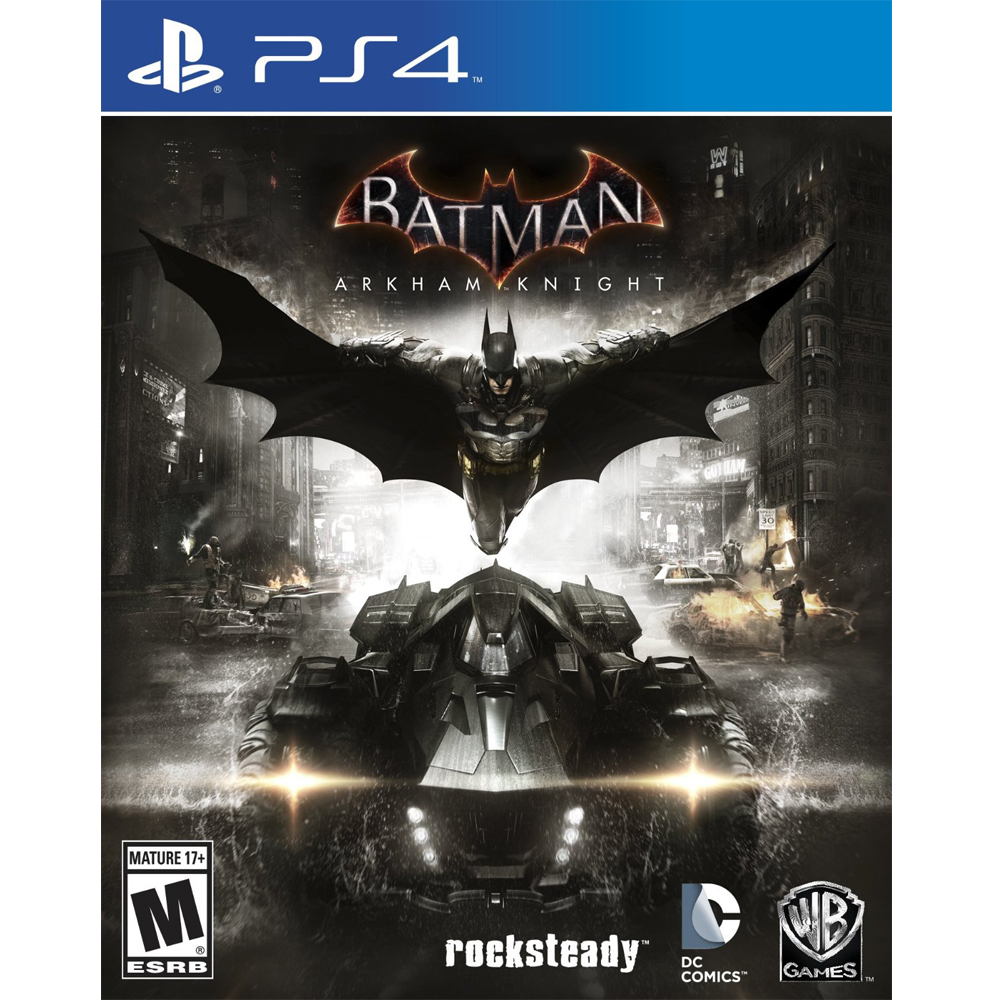 PS4 蝙蝠俠:阿卡漢騎士 英文美版 Batman: Arkham Knight
